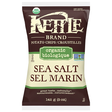 Kettle Organic Sea Salt Chips