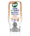 Vim Power & Shine Concentrated Kitchen Cleaner Ecopack Refill