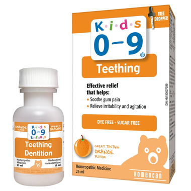 Homeocan Kids 0-9 Teething Oral Solution