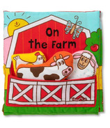 Melissa & Doug K's Kids Cloth Book On The Farm