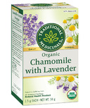 Traditional Medicinals Organic Chamomile with Lavender Tea