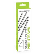 U-Konserve Stainless Steel Mini Straws Set
