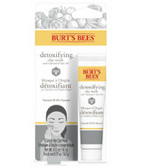 Burt's Bees Detoxifying Clay Mask with Charcoal and Acai Oil Single Use