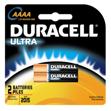 Duracell Ultra AAAA Batteries