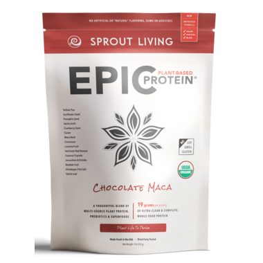 Sprout Living Epic Protein Chocolate Maca