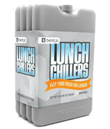 Bentgo Lunch Chillers Ice Packs Set Grey
