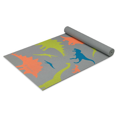 Gaiam Kids Printed Yoga Mat Dino