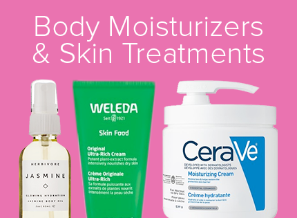 Body Moisturizers & Skin Treatments