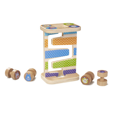 Melissa & Doug Safari Zig- Zag Tower