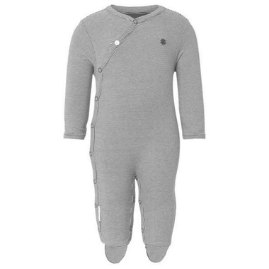 Noppies Organic Cotton Playsuit Riche Charcoal