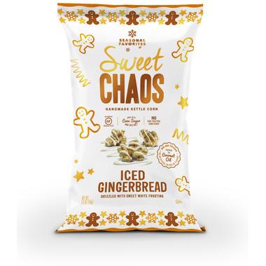 Sweet Chaos Iced Gingerbread Popcorn