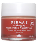 DermaE Crème de nuit régénératrice anti-âge