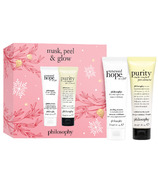 Philosophy Mask, Peel & Glow Set