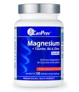 CanPrev Magnesium + Taurine with B6 & Zinc for Cardio