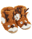 Little Blue House by Hatley Kids Slippers Brown Reindeer