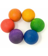 Grapat Wood Coloured Balls