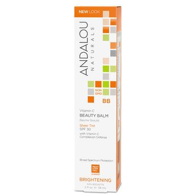 ANDALOU naturals Brightening Vitamin C BB Beauty Balm Sheer Tint SPF 30