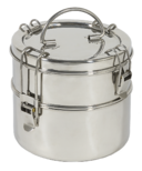 To-Go Ware 2 Tier Stainless Steel Tiffin Regular Size