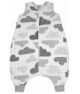 Perlimpinpin Plush Toddler Sleep Bag Clouds