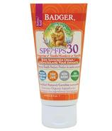 Badger SPF 30 Tangerine & Vanilla Kids Sunscreen Cream