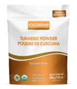 Poudre de curcuma biologique Rootalive
