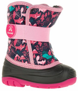 Kamik Snowbug4 Kid's Boots Pink Critters