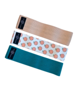 Supported Soul Fabric Resistance Band Set Perfect Peach