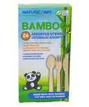 NatureZway Bamboo Disposable Cutlery