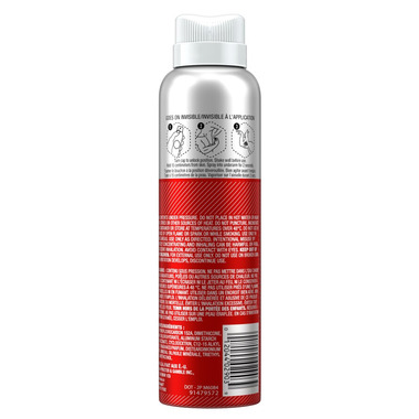 Old Spice Invisible Spray Antiperspirant And Deodorant for Men Wolfthorn