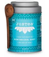 JusTea Loose Leaf Black Tea Kenyan Earl Grey