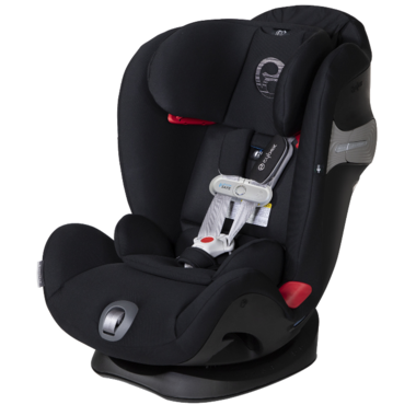 Cybex Eternis Car Seat S Sensor Safe Lavastone Black