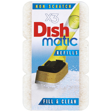 Dishmatic Non Scratch Refills