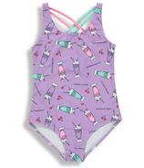 BIRDZ Children & Co. Onepiece Lilac Milkshake Swimsuit