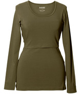Boob Classic Long Sleeve Top Forest Green