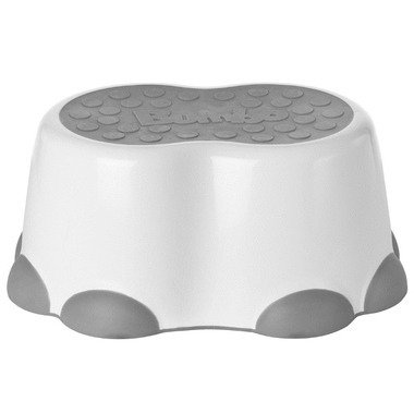 Bumbo Step Stool White and Grey