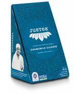 JusTea Herbal Pyramid Tea Bags Chamomile Cleanse
