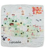Loulou Lollipop Muslin Quilt Blanket Canada