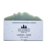 Wilderness Soap Co. Lemon + Sage Soap
