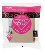 Hario V60-02 Unbleached Paper Filters