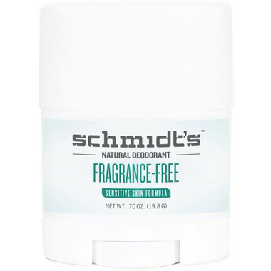 Schmidt\'s Deodorant Fragrance-Free Sensitive Skin Deodorant Travel Size