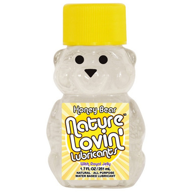 Nature Lovin\' Honey Bear Water-Based Lubricant