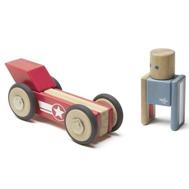 Tegu Magnetic Wooden Block Set Daredevil
