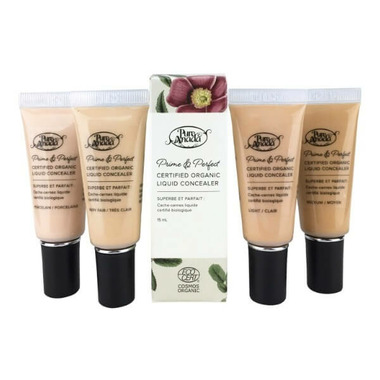 Pure Anada Prime And Perfect Certified Organic Liquid Concealer