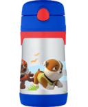 Thermos Stainless Steel Straw Bottle Paw Patrol