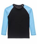 Snapper Rock Slate Light Blue Long Sleeve Rash Top