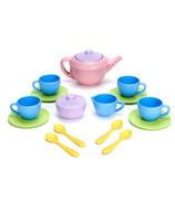 Service à thé en matière écologique