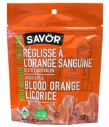Savor Organic Aussie Style Blood Orange Licorice