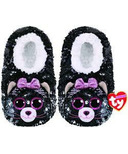 Ty Fashion Kiki the Cat Sequin Slipper Socks