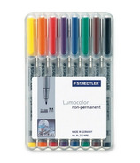 Staedtler Lumocolour Medium Fibre-Tip Ink Pens