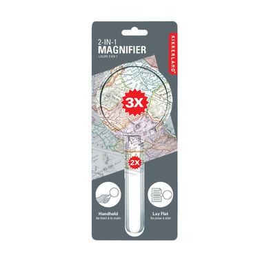 Kikkerland Acrylic Magnifier